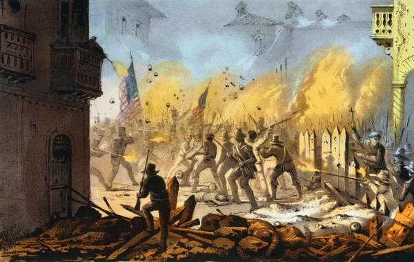 Third day of the siege of Monterey sic--Sept. 23rd 1846