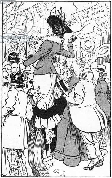 1902 Coronation - In the Crowd, self-sacrifice
