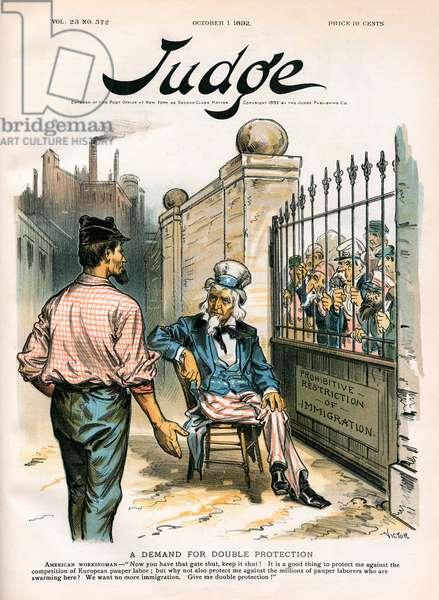 USA & PAUPER LABOUR/1892