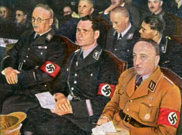 RUDOLF HESS/NAZI MEETING