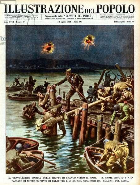 Spanish War: Nationalists cross the Ebro
