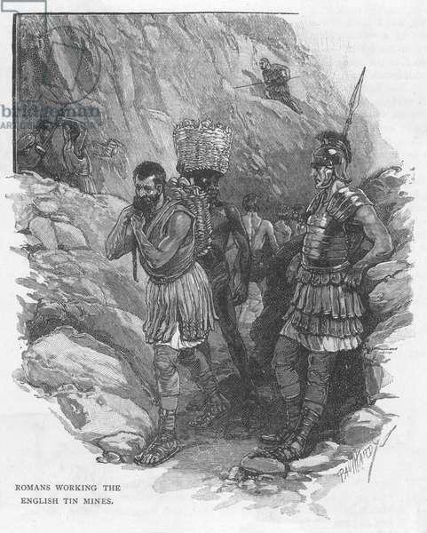 TIN MINING/ROMAN BRITAIN