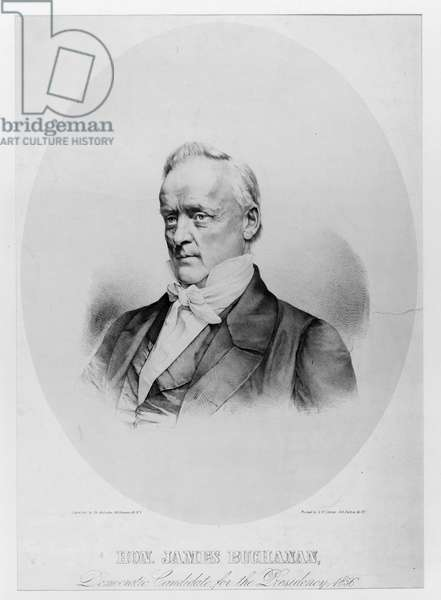 Hon. James Buchanan, democratic candidate for the presidency