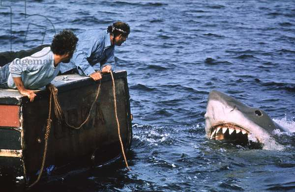 Jaws directed by Steven Spielberg, 1975
