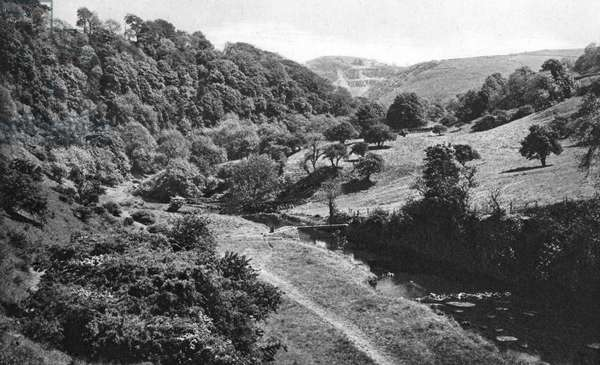 View of Chee Dale, Derbyshire