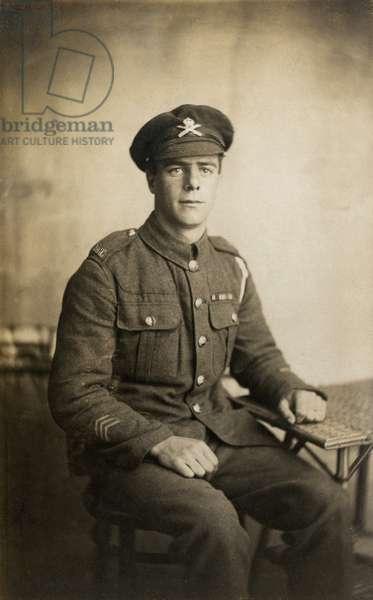 British army sergeant