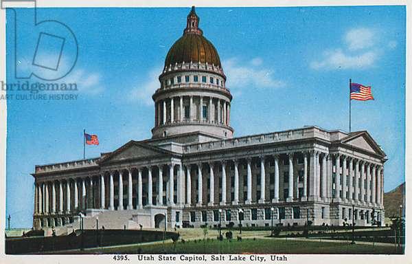 Utah - State Capitol Building, Salt Lake City