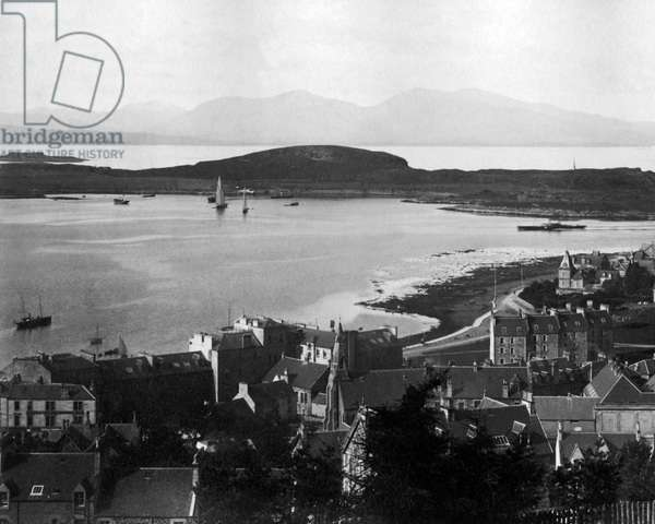 Firth of Lorn from Oban, Scotland