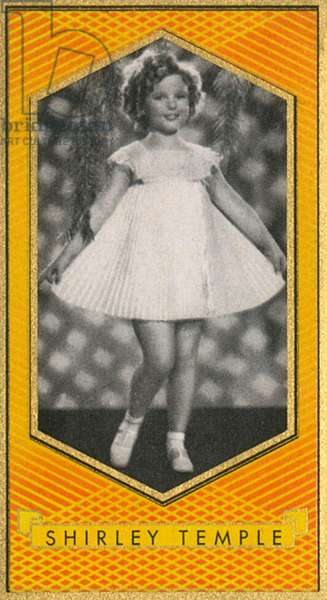 SHIRLEY TEMPLE, American child star