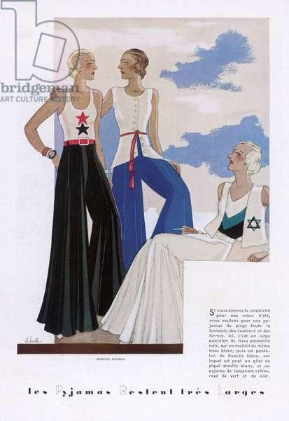 PYJAMAS BY ROCHAS 1931