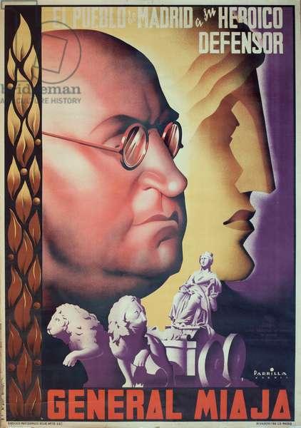 Spanish Civil War poster
