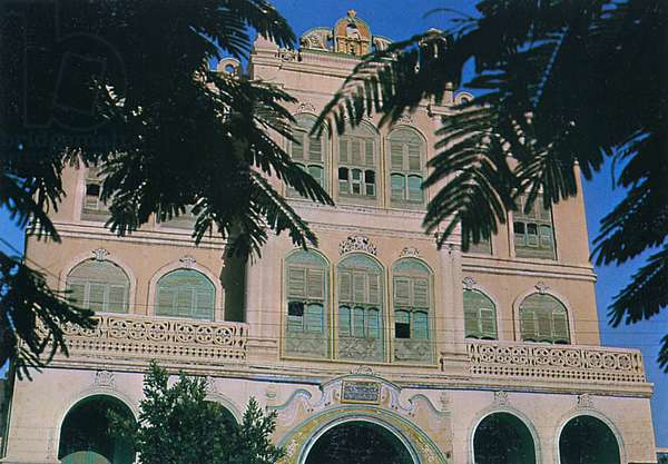 Saudi Arabia - Old Balconies in Taif