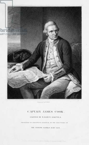 Captain James Cook (1728-1779)