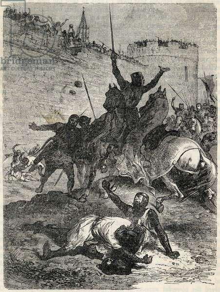 DEATH OF DE MONTFORT