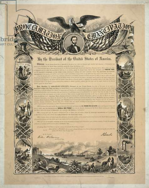 Proclamation of Emancipation by Abraham Lincoln