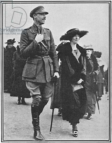Lady Idina Wallace with Hon. Ralph Stuart-Wortley