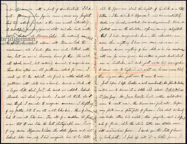Letter written by Wallace, Alfred Russel (1823-1913)