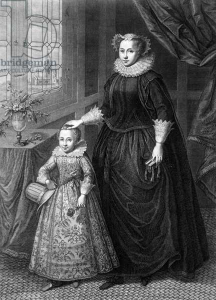 MARY, QUEEN OF SCOTS/SON