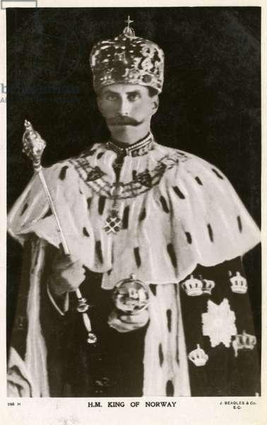 King Haakon VII of Denmark