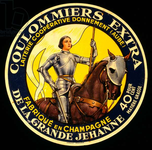 Advertisement for Coulommiers Extra champagne