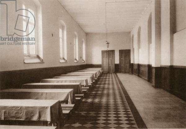 Refectory at House of Refuge, Wortel, Belgium