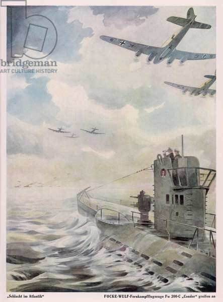 CONDOR ATTACKS SUB 1941