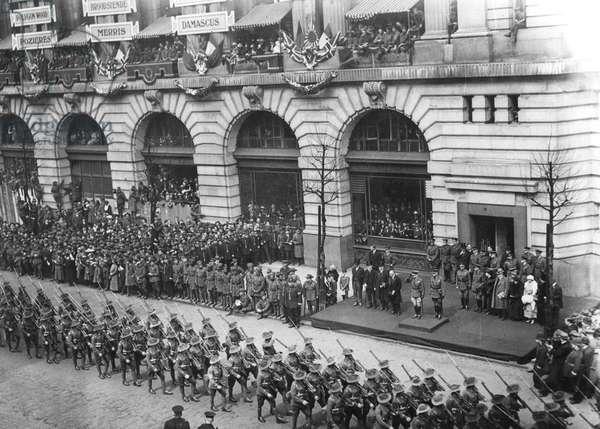 ANZAC Day in London, 25th April 1919
