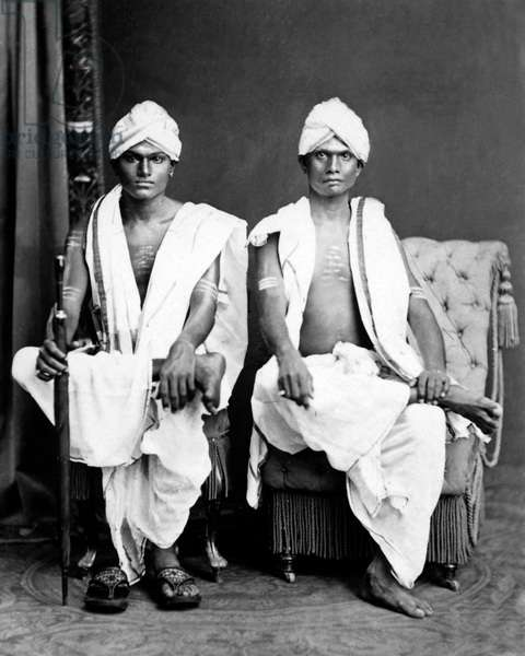 Two men, Ceylon (Sri Lanka)