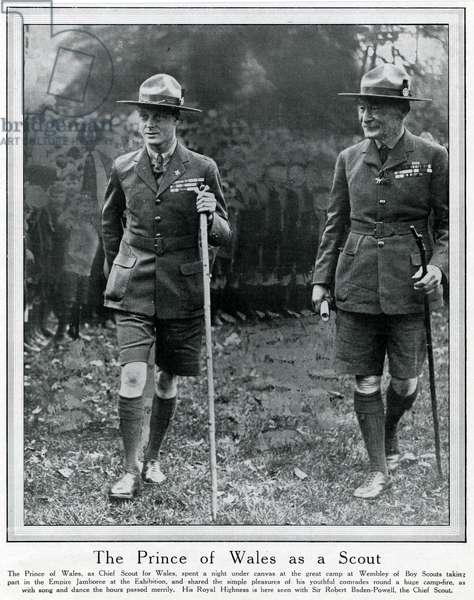 Prince Edward and Robert Baden-Powell