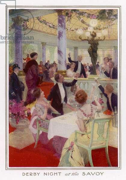 SOCIAL/SAVOY DERBY 1914