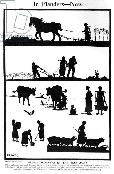 Women workers in the war zone by H. L. Oakley
