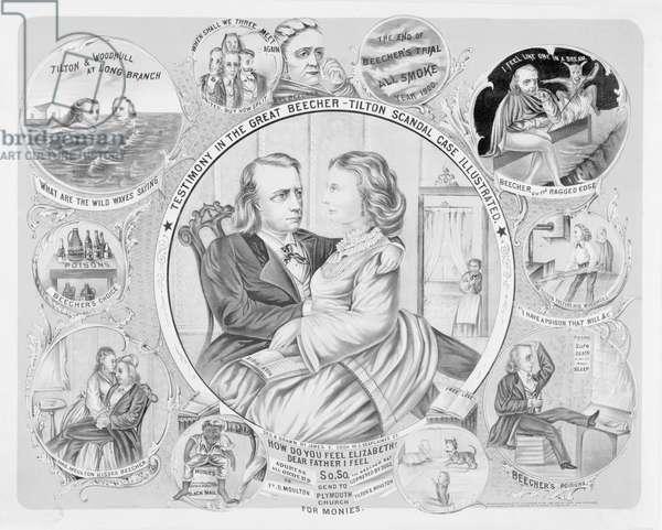 Testimony in the great Beecher-Tilton scandal case illustrat