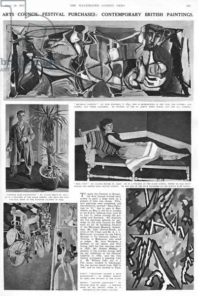 Illustrated London News page, 1951