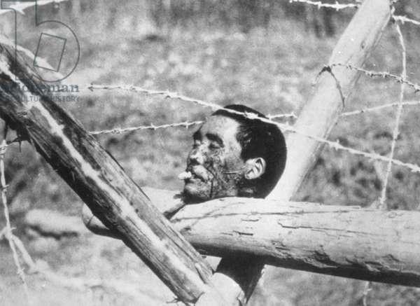 Beheaded Chinese man