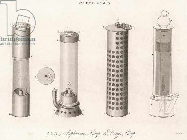 SAFETY LAMPS/1826
