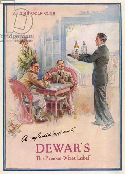 ADVERT/DEWARS WHISKY