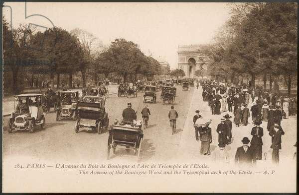 PARIS/BOIS BOULOGNE 1905
