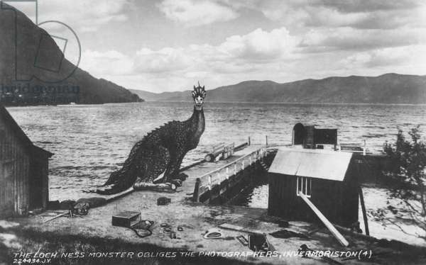 The Loch Ness Monster in Invermoriston