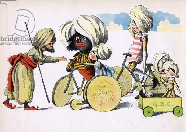 The Golliwogg's Bicycle Club - Turkish man's warm welcome