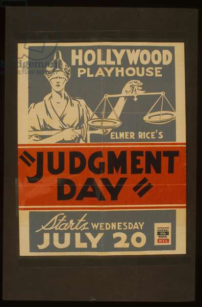 Elmer Rice's Judgement day Elmer Rice's Judgement day
