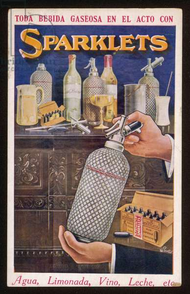 ADVERT/SODA WATER 1920S