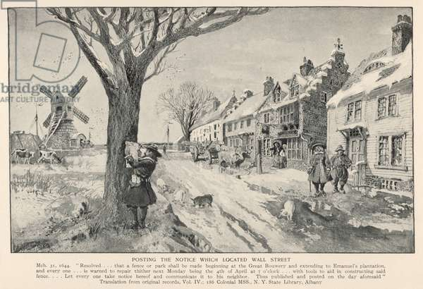 WALL STREET 1644