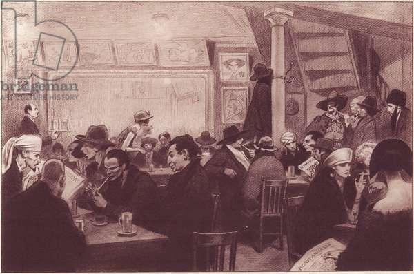 Cafe a Montparnasse