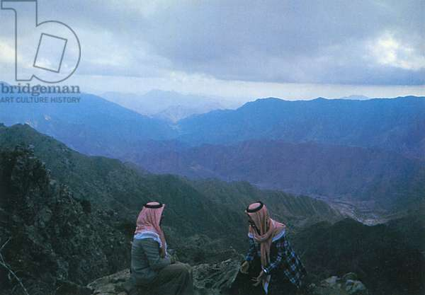 Saudi Arabia - Mountains near Abha
