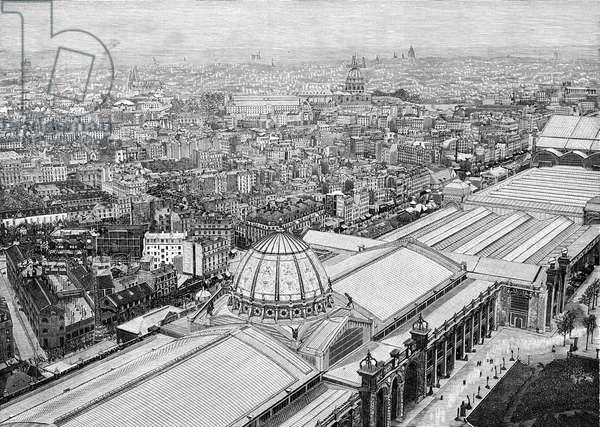 Paris, France - View from La Tour Eiffel.