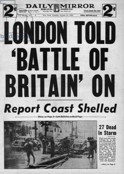 Battle of Britain, WW2