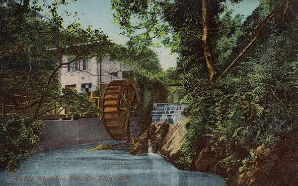 Isle of Man, Groudle Glen - Water Wheel