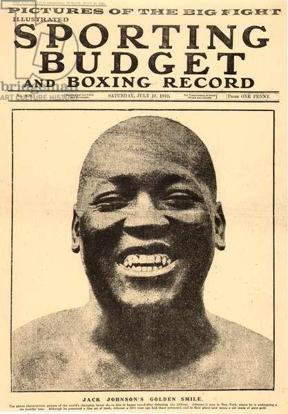 Jack Johnson, world champion boxer