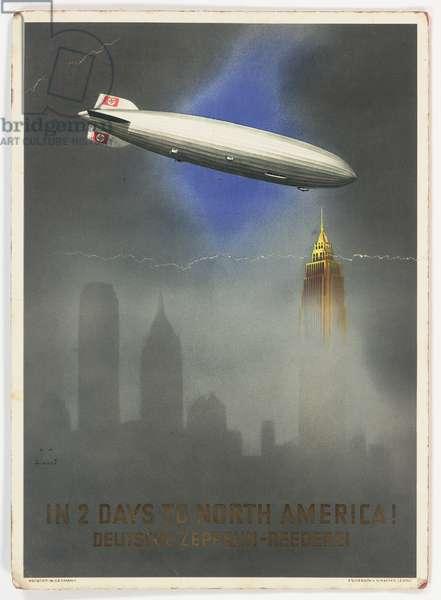 Cover design, Graf Zeppelin II brochure