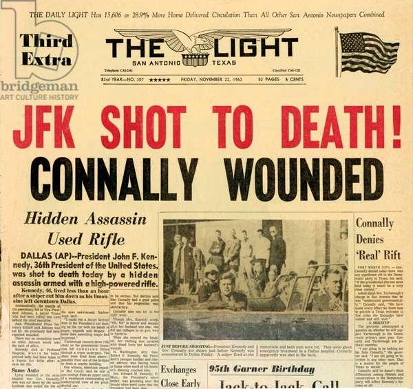 Death of Kennedy